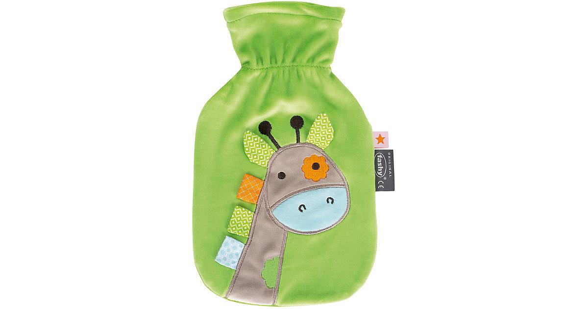 Fashy · Wärmflasche, Giraffe, grün