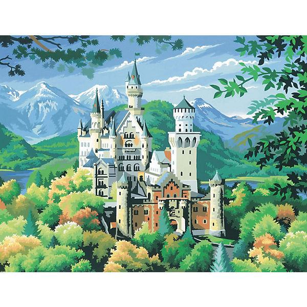 Senior Painting By Numbers Schloss Neuschwanstein Mammut Spiel Und Geschenk Mytoys
