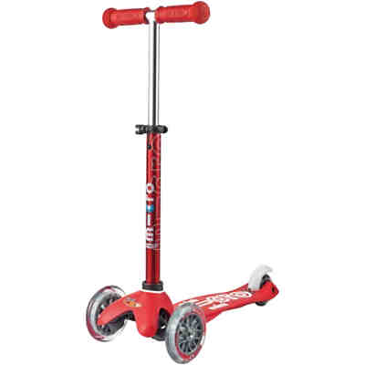 Twist-Scooter mini micro Deluxe, rot