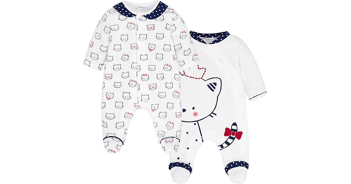 Mayoral · Schlafanzug Doppelpack Gr. 50/56 Mädchen Baby