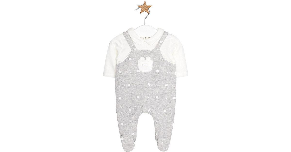 Mayoral · Baby Strampler mit eingenähtem Langarmshirt Gr. 56/62