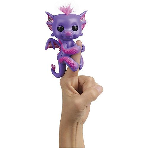 "Интерактивный дракон WowWee Fingerlings ""Калин"", 12 см от WowWee"