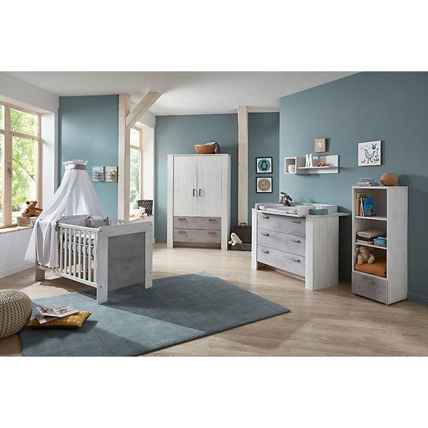 Komplett Kinderzimmer Lola 3 Tlg Kinderbett Exkl Umbauseiten