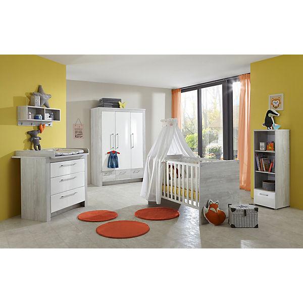 Komplett Kinderzimmer Emilia, 3-tlg. (Kinderbett exkl. Umbauseiten ...
