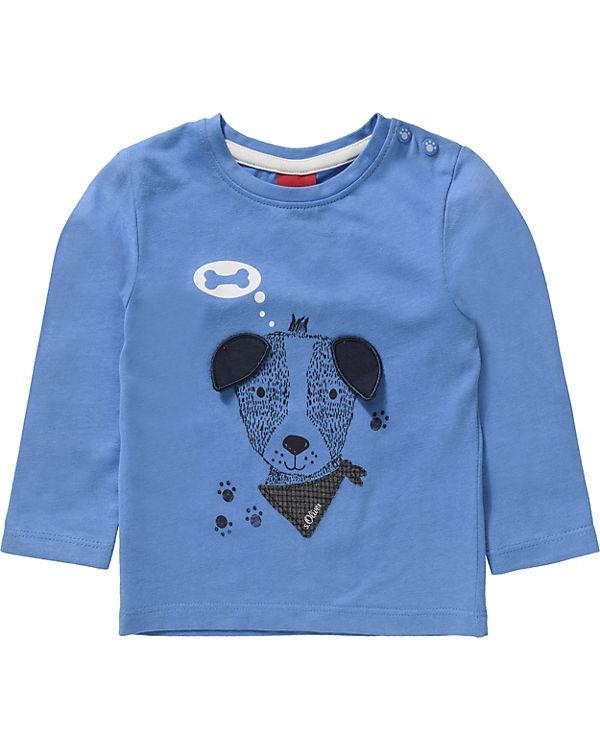 db5dd8aad4df Baby Langarmshirt für Jungen, Hund, s.Oliver   myToys