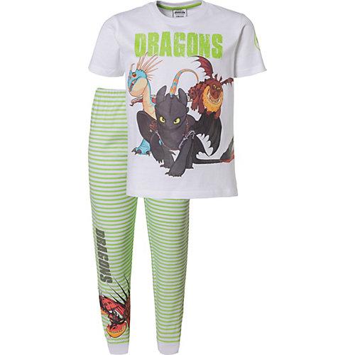 Dragons Schlafanzug Gr. 104/110 Jungen Kleinkinder | 04049118511103