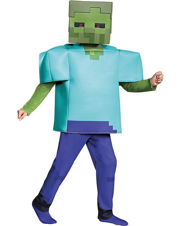Kostüm Minecraft Zombie Deluxe, Minecraft