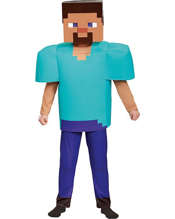 Kostum Minecraft Steve Deluxe