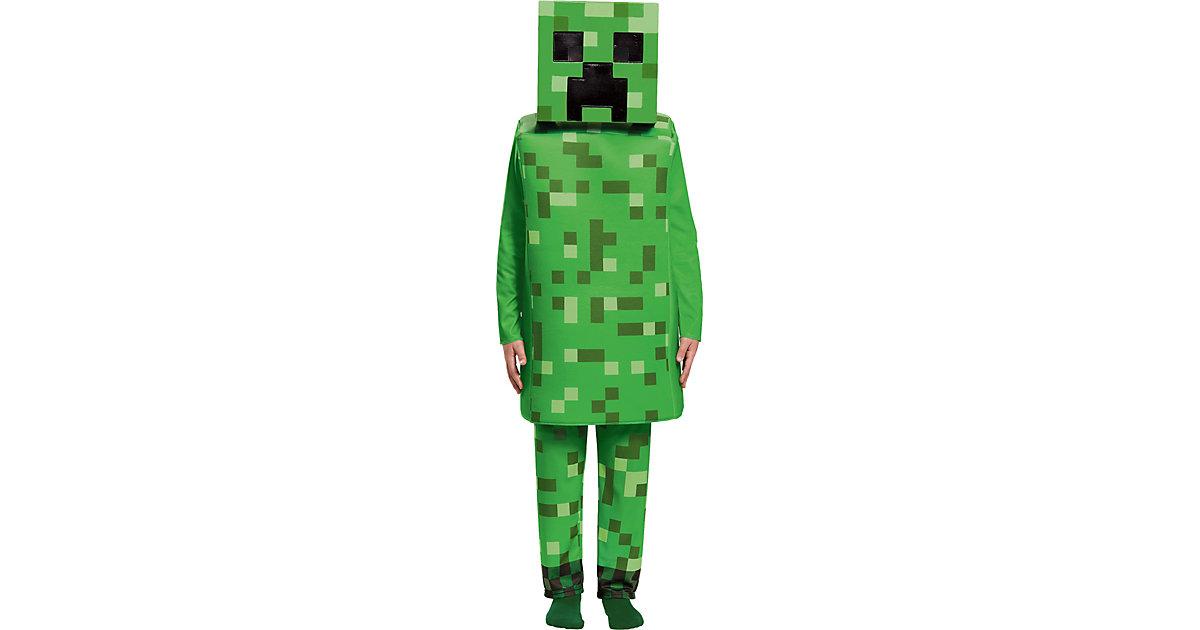 Kostüm Minecraft Creeper Deluxe grün Gr. 104/122 Jungen Kinder