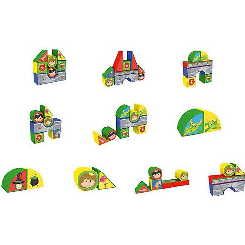 """Пластиковые кубики Magneticus """"Замок"""", 12 кубиков от Magneticus"""