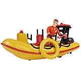 """Игровой набор Simba """"Пожарный Сэм"""" Лодка спасателей с аксессуарами"""