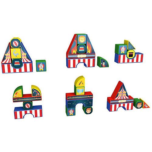 """Пластиковые кубики Magneticus """"Цирк"""", 12 кубиков от Magneticus"""