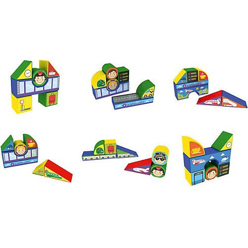 """Пластиковые кубики Magneticus """"Аэропорт"""", 12 кубиков от Magneticus"""