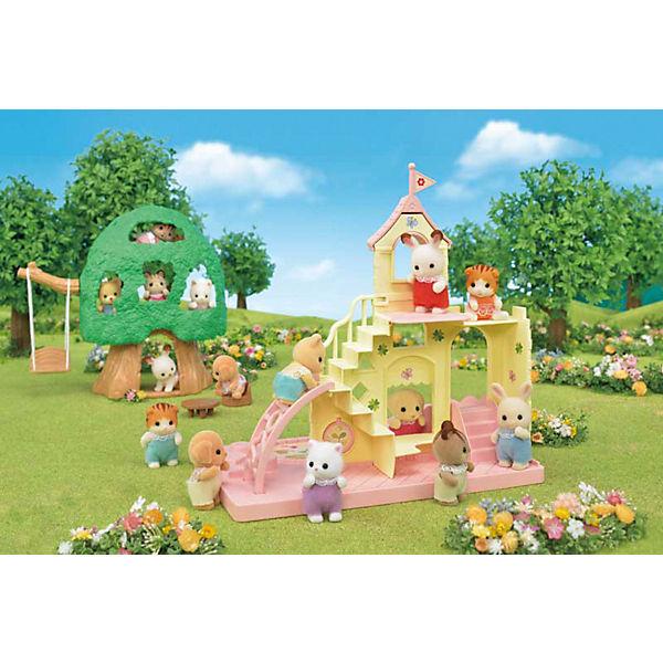 Набор Sylvanian Families Игровая площадка «Замок»