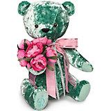 Мягкая игрушка Budi Basa Медведь БернАрт, изумрудный, 30 см