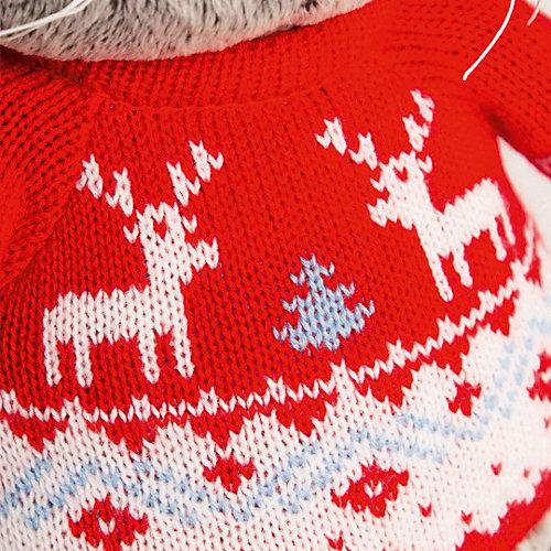 Мягкая игрушка Budi Basa Кот Басик в свитере с оленями, 19 см от Budi Basa