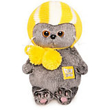 Мягкая игрушка Budi Basa Кот Басик Baby в спортивной шапке, 20 см