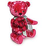 Мягкая игрушка Budi Basa Медведь БернАрт, розовый, 30 см