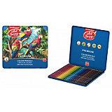 Цветные карандаши Erich Krause ArtBerry® Premium, 24 цвета, металлическая коробка