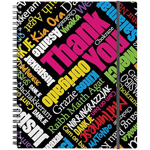 Тетрадь на спирали Erich Krause Thank you! А5+, 80 л., клетка от Erich Krause