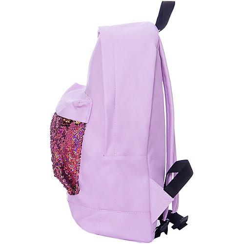 """Рюкзак с пайетками Centrum """"Хамелеон"""" розовый - розовый от CENTRUM"""