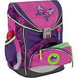 Ранец с наполнением DerDieDas ErgoFlex Superlight Розовая Бабочка