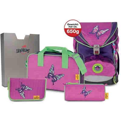 185a2fd16133b (Kollektion 2019) 8403076 Schulrucksackset ErgoFlex SUPERLIGHT Papillon