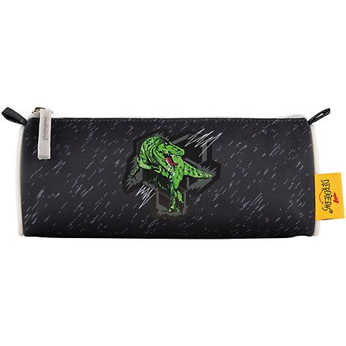 """Ранец с наполнением DerDieDas """"Ergoflex"""" Зеленый динозавр - schwarz/grün от DerDieDas"""
