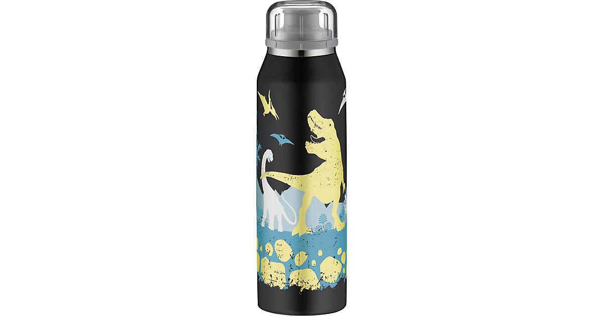 Alfi · Alfi Isolier-Trinkflasche isoBottle Dinosaurier Glow in the Dark, 500 ml (Mit Beschriftungsfeld)