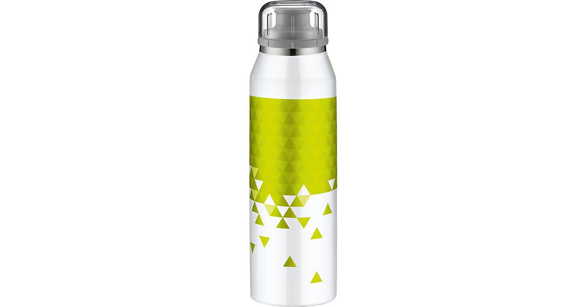 Alfi · Alfi Isolier-Trinkflasche isoBottle 3D-Effekt Style White-Lime, 500 ml