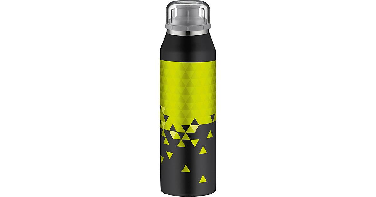 Alfi · Alfi Isolier-Trinkflasche isoBottle 3D-Effekt Style Black-Lime, 500 ml