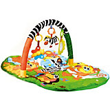 """Детский коврик Umka """"Животные африки"""" с игрушками на подвеске"""
