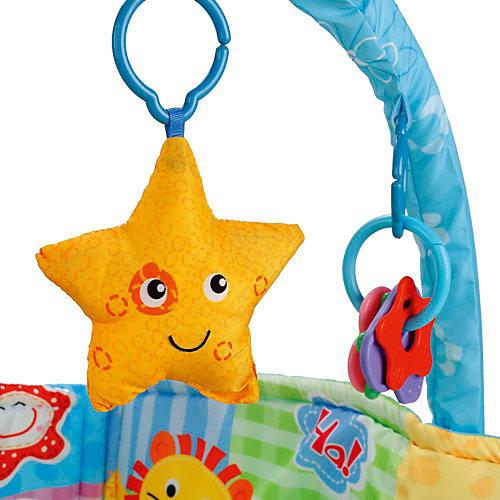 Детский коврик Umka с бортами и дугой от Умка