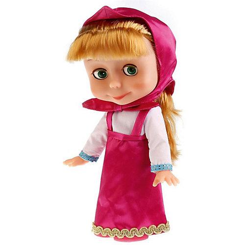 """Кукла Карапуз """"Маша и Медведь"""" Маша с зимней одеждой, озвученная, 25 см от Карапуз"""