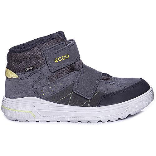 Утепленные ботинки ECCO - черный/серый от ecco