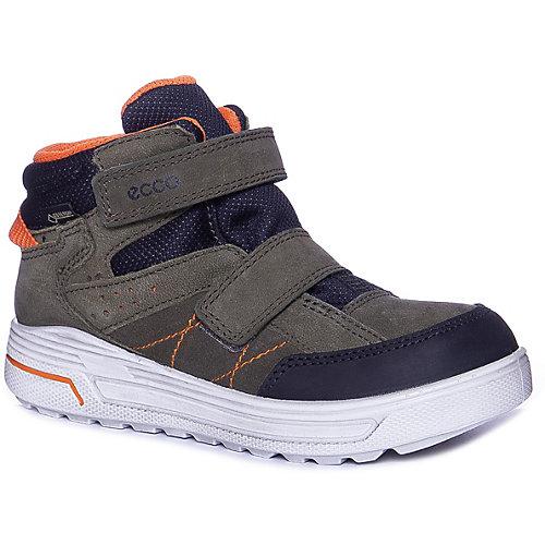 Утепленные ботинки ECCO - зеленый от ecco
