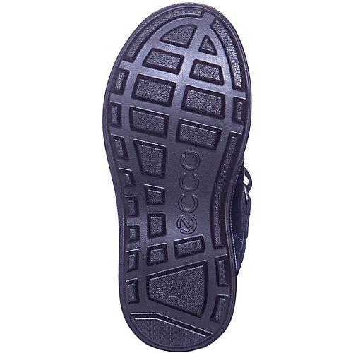Утепленные ботинки ECCO - синий от ecco