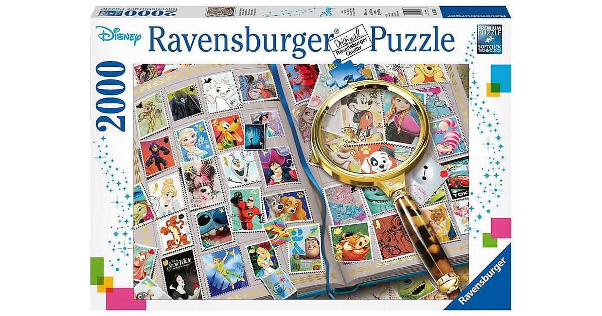 Ravensburger · Ravensburger - Puzzle: Disney, Meine liebsten Briefmarken, 2000 Teile