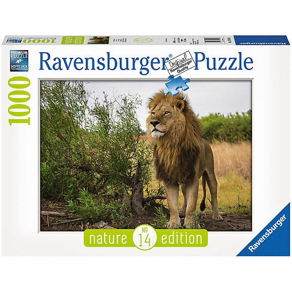 Puzzle 1000 Teile Stolzer Löwe, Ravensburger
