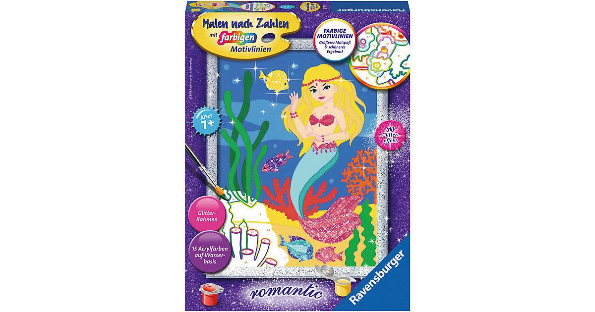 Malen nach Zahlen Kleine Meerjungfrau