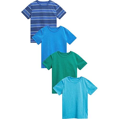 Next T-Shirts 4er Pack Gr. 128 Jungen Kinder | 05057823331038
