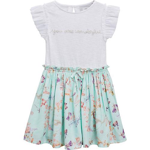 next Kinder Kleid mit angesetztem Rock Gr. 158 Mädchen Kinder | 05057823767684