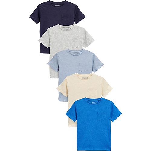 T-Shirts 5er Pack Gr. 164 Jungen Kinder | 05057823660831