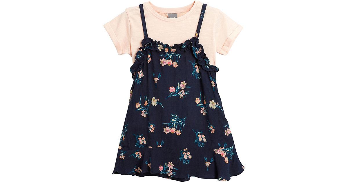 Kinder Set Kleid + T-Shirt Gr. 104/110 Mädchen Kleinkinder