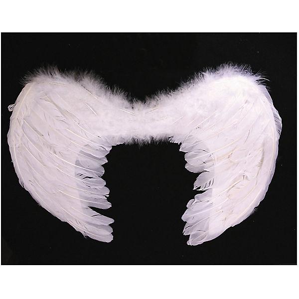 Маскарадные крылья Феникс-Презент, белые