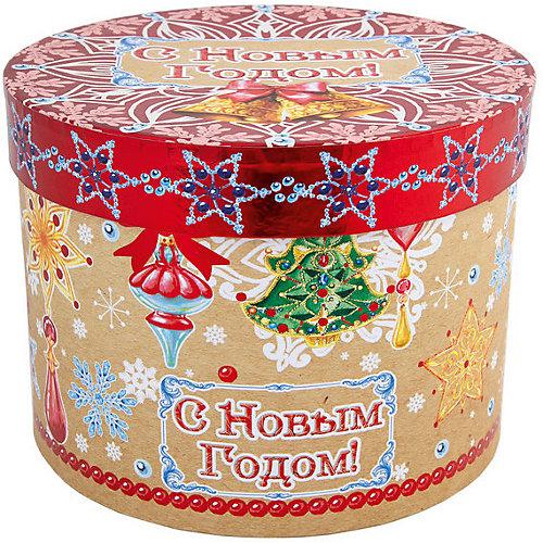 """Подарочная коробка Феникс-Презент """"Новогодние колокольчики"""" от Феникс-Презент"""