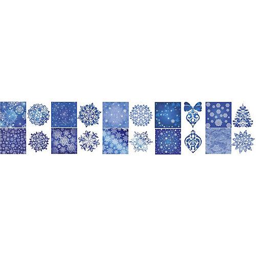 """Новогодний набор для вырезания Феникс-Презент """"Зимний вечер"""", 10 листов"""
