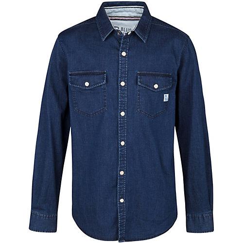 WE Fashion Jeanshemd JILES Gr. 122/128 Jungen Kinder | 08719508306829