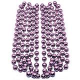 Буcы-шарики на ёлку B&H 2,7 м., нежно-розовые