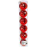 Набор елочных шаров B&H 6 шт, 6 см., красные